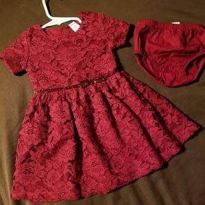 Carter's 12 months Holiday Dress